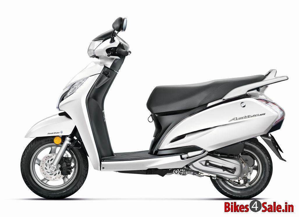 Ray Price Honda >> Honda Activa 125 Scooter Picture Gallery. White Colour - Bikes4Sale