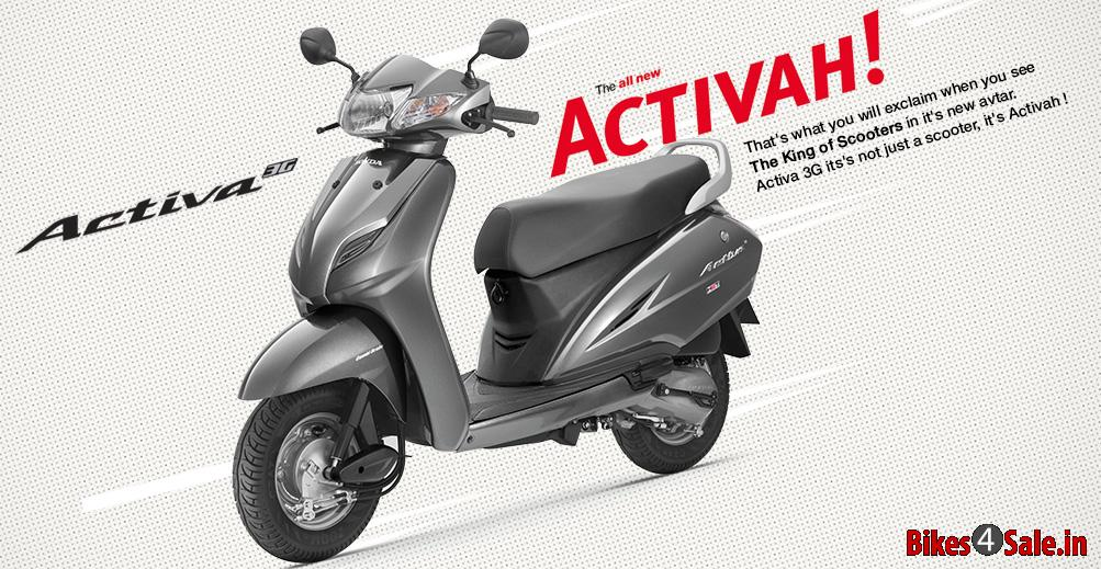 Honda Activa 3g Price Specs Mileage Colours Photos And Reviews