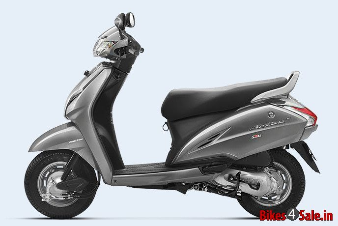Used Honda Motorcycles >> Geny Grey Metallic Colour. Honda Activa 3G Scooter Picture Gallery - Bikes4Sale