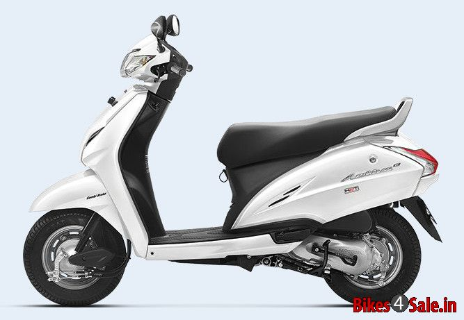 Pearl Amazing White Colour Honda Activa 3g Scooter Picture