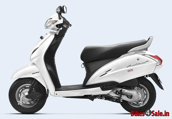 Pearl Amazing White Colour. Honda Activa 3G Scooter ...