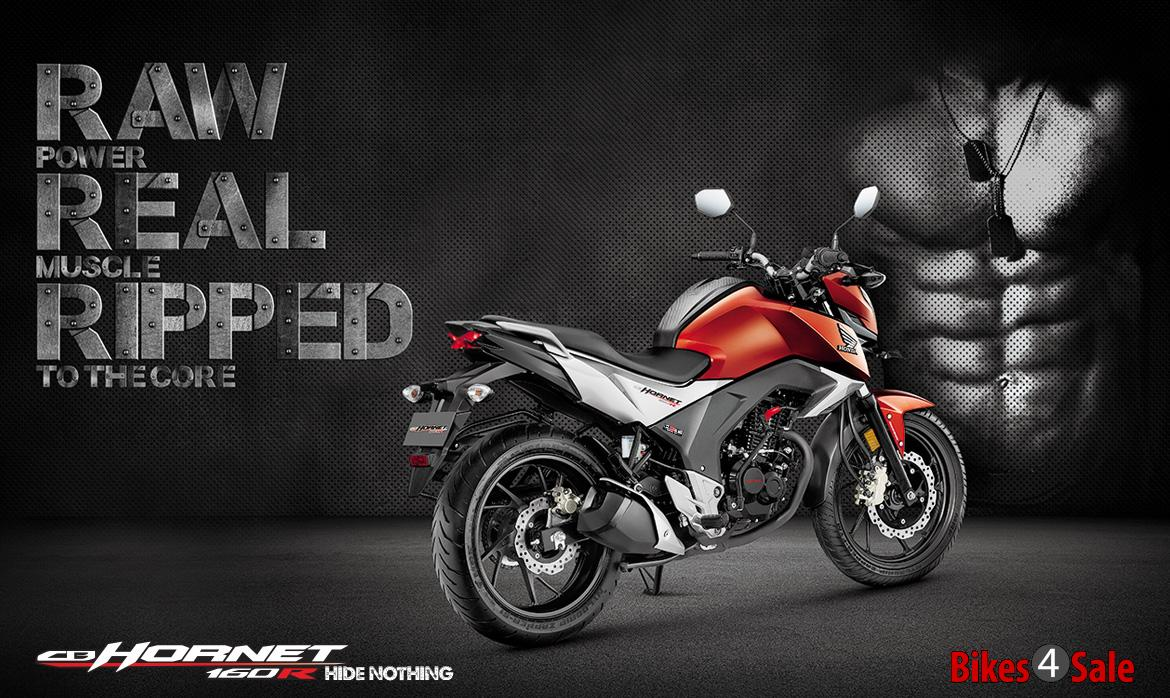 honda cb hornet 160r price, specs, mileage, colours, photos and