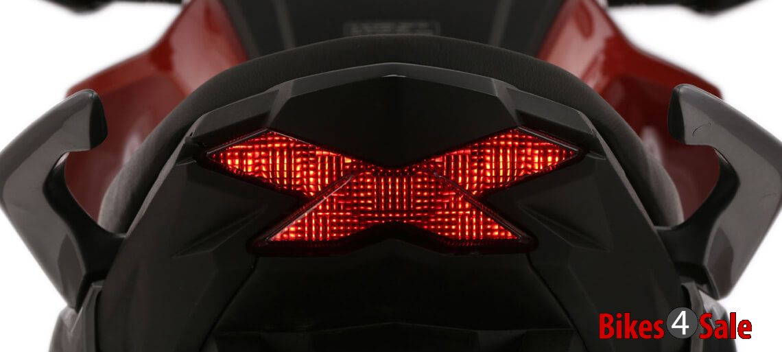 Rear Light of CB Hornet