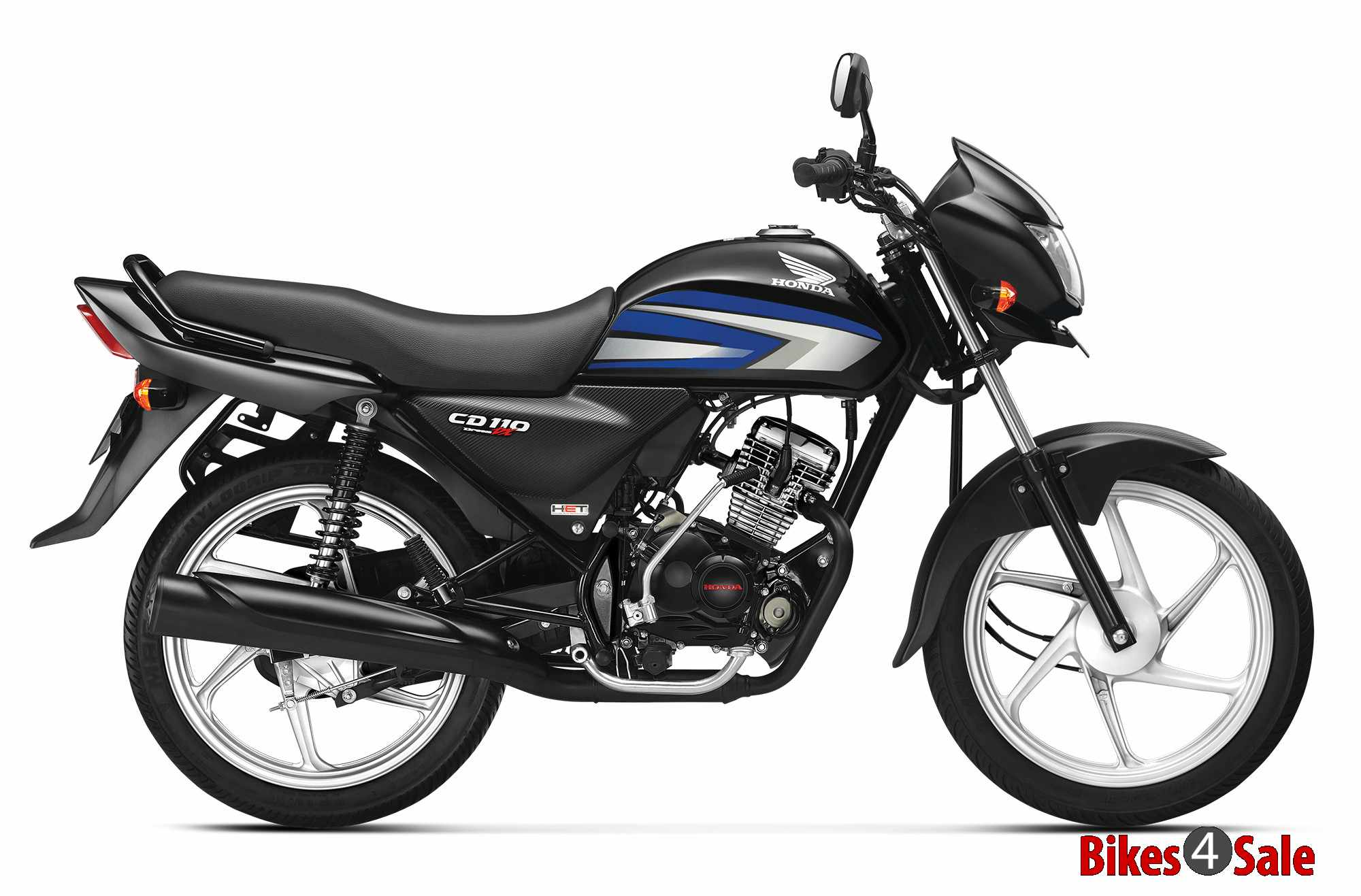 Used Honda Motorcycles >> Honda CD 110 Dream DX Motorcycle Picture Gallery. Blue color - Bikes4Sale