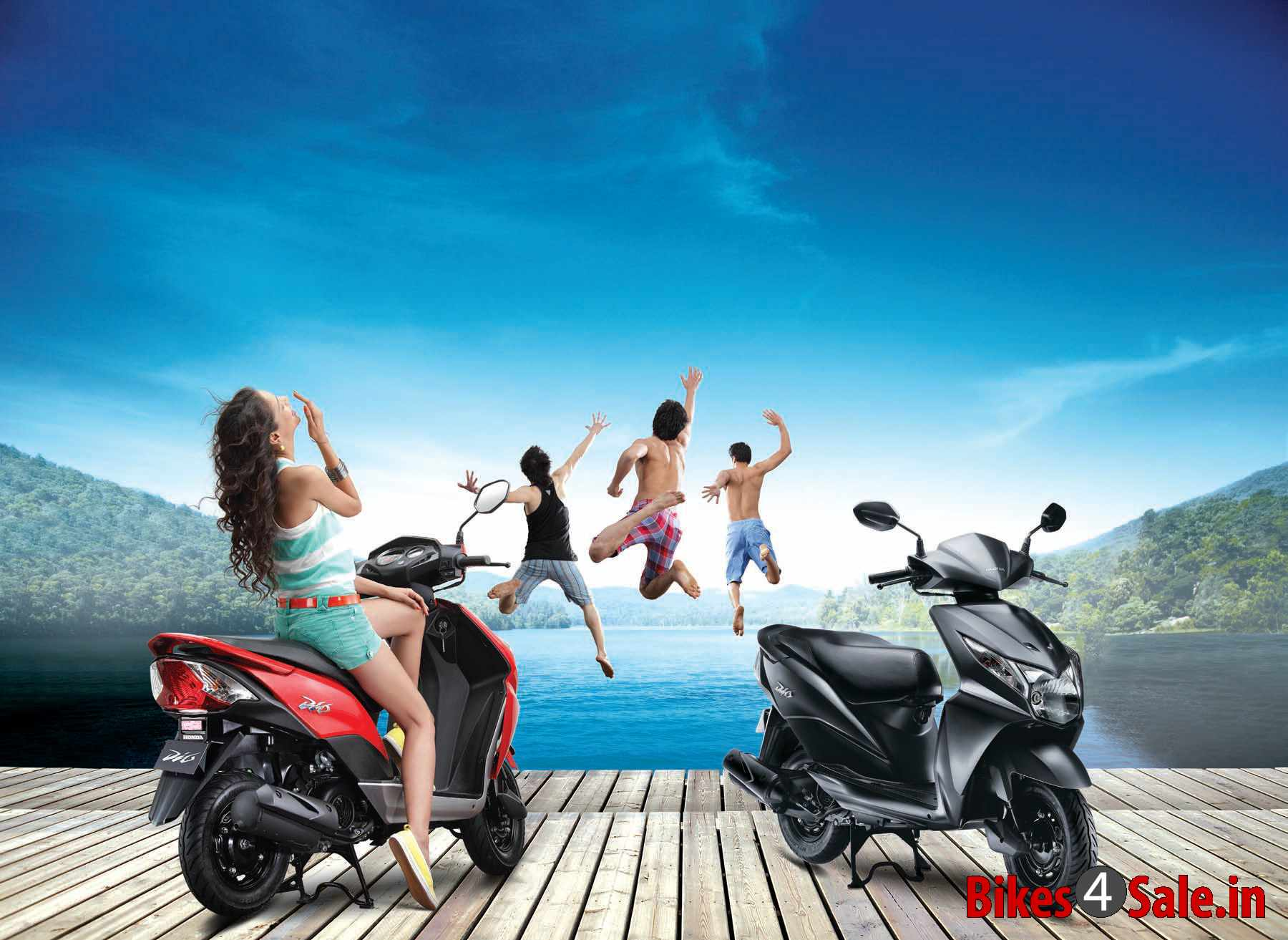 Honda Dio Price Specs Mileage Colours Photos And