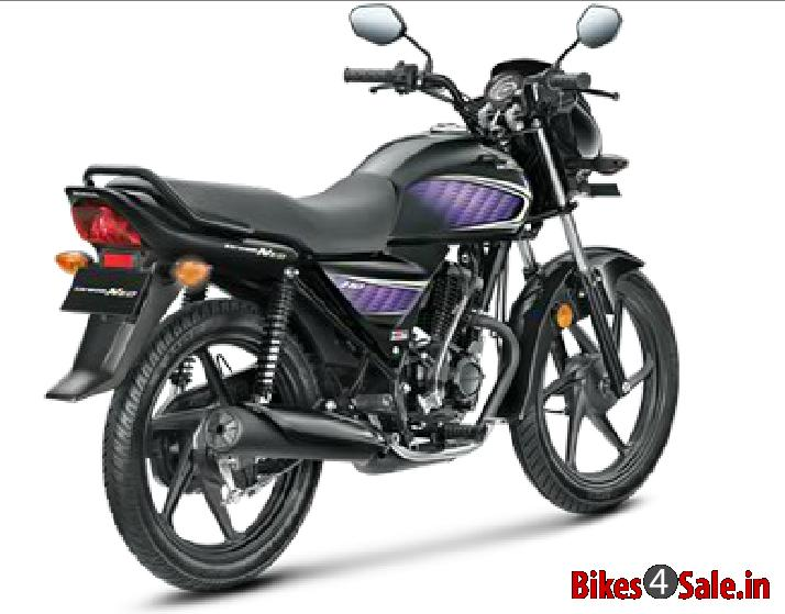Honda Dealers In Ct >> Honda Dream Neo in Black Colour with Violet Stripes. Honda Dream Neo Motorcycle - Bikes4Sale