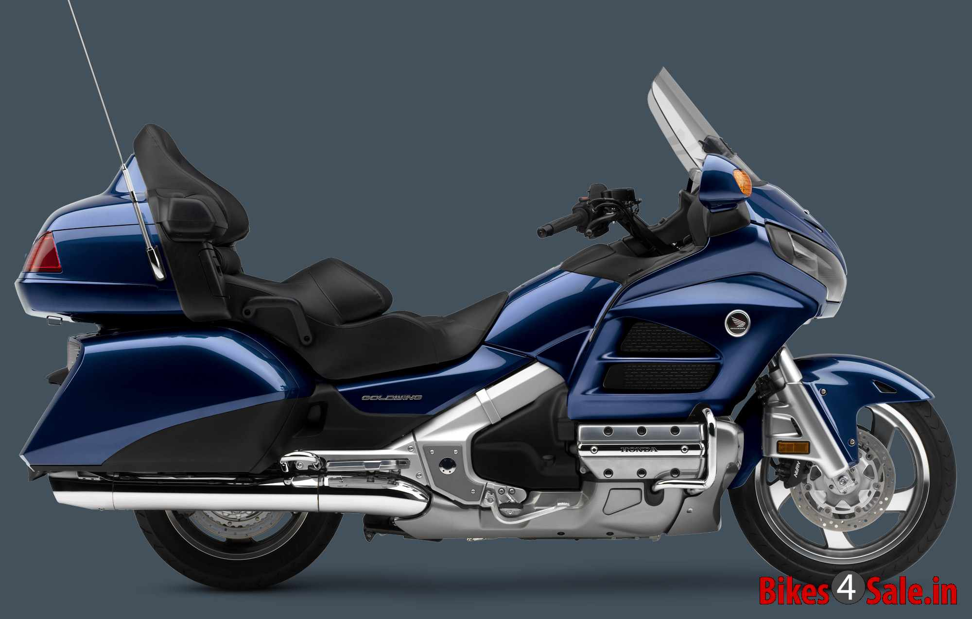Honda Gold Wing Gl1800 Motorcycle Picture Gallery Pearl Blue Colour 1970 Cb 90