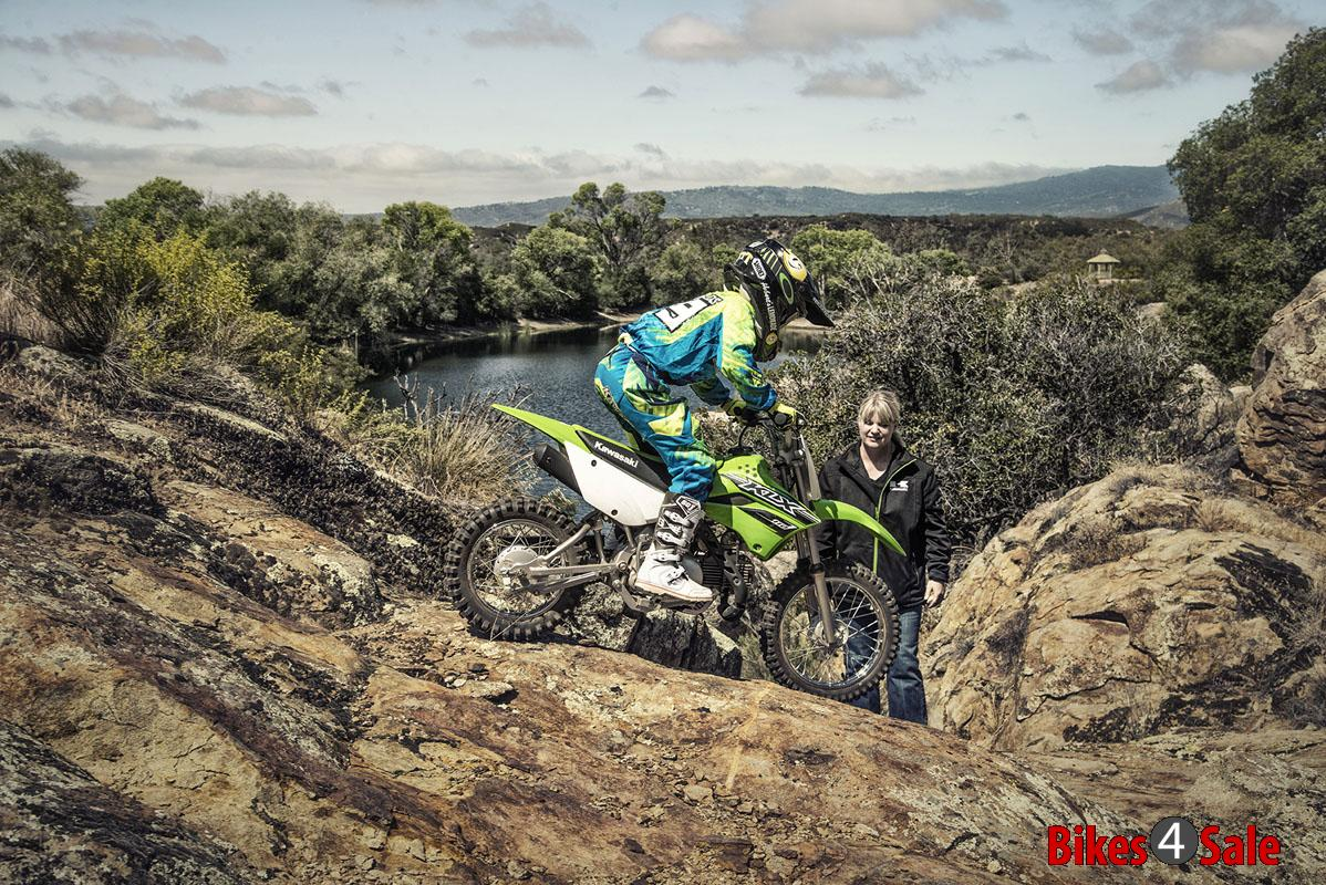 KLX 110 Off roading
