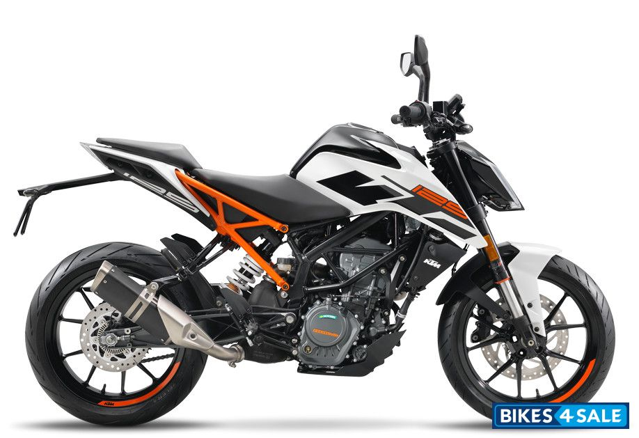 ktm duke 125 price specs mileage colours photos and reviews bikes4sale. Black Bedroom Furniture Sets. Home Design Ideas