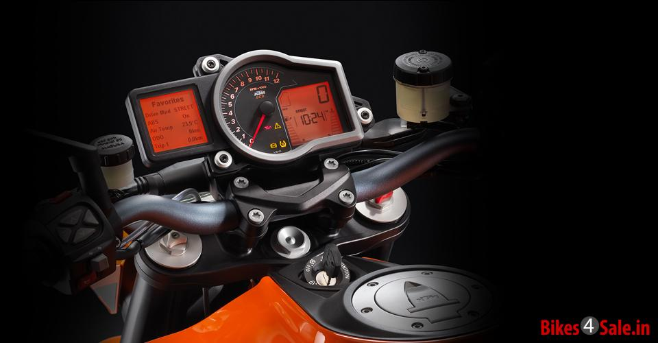 Traction Control of KTM 1290 Super Duke R