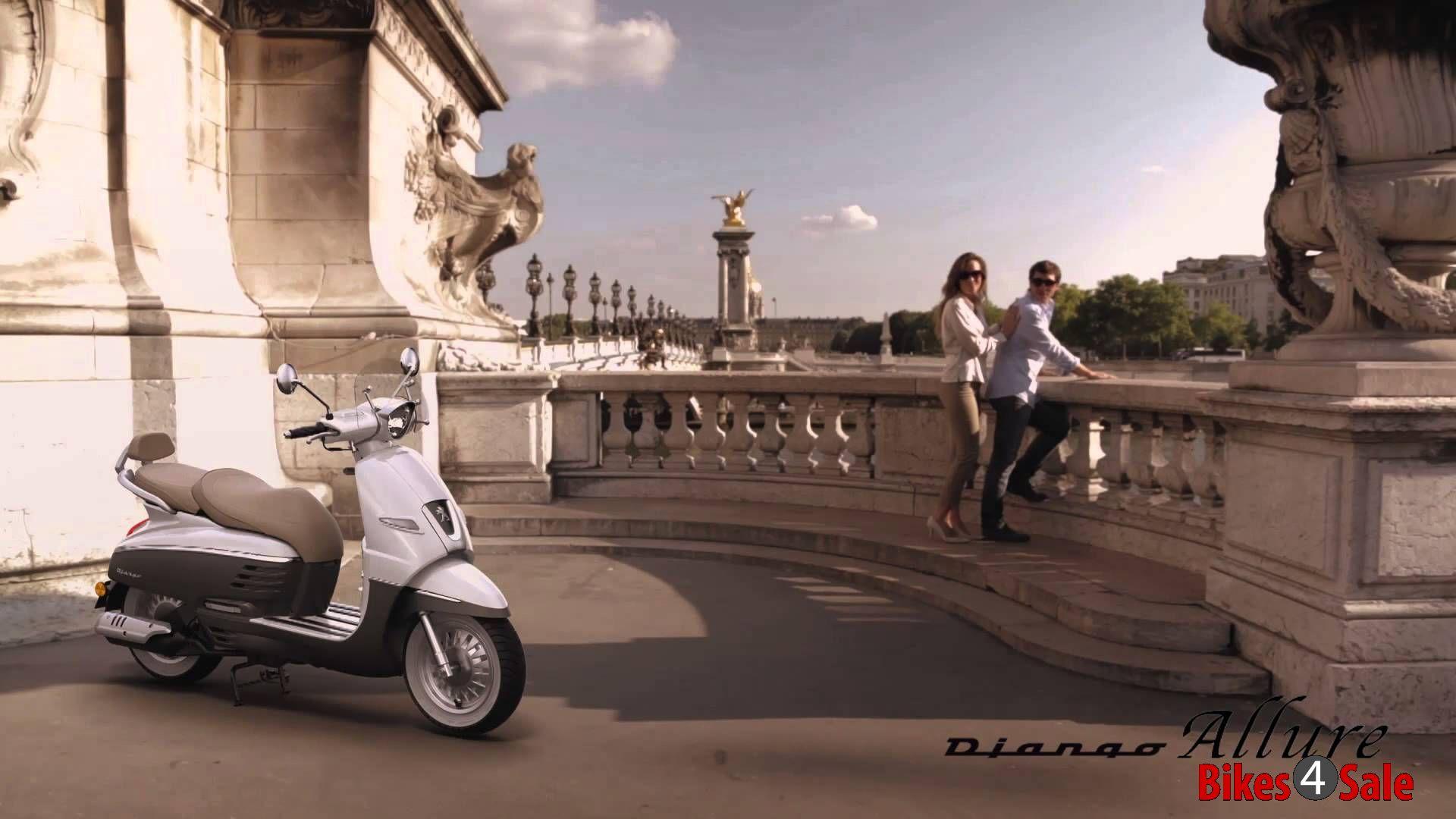 Peugeot Django 150 Wallpaper