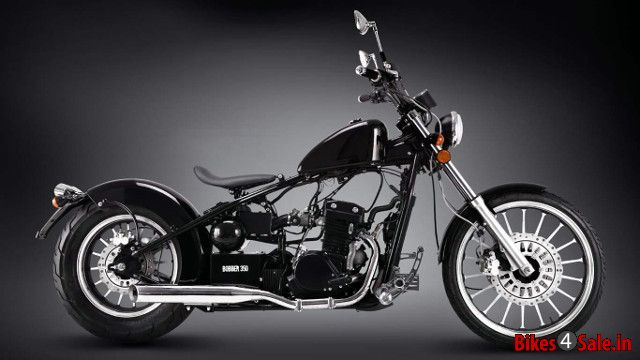 Regal Raptor Bobber 350 Price Specs Mileage Colours