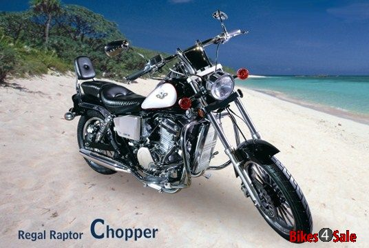Regal Raptor Chopper DD350E-9B