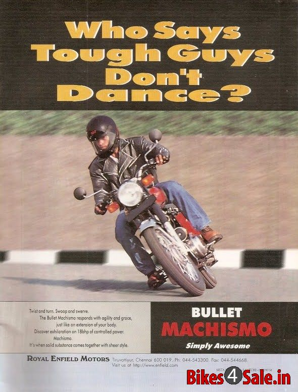 Royal Enfield Bullet Machismo 350 Old Price Specs