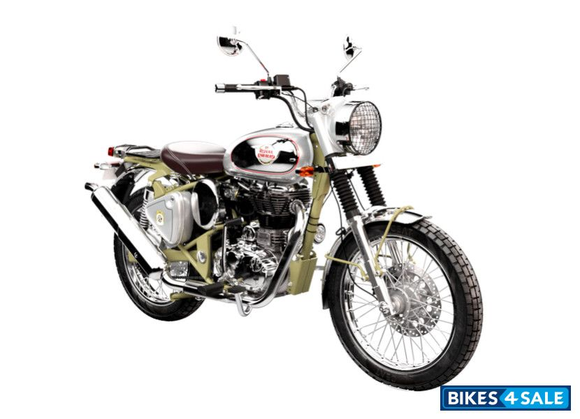 Royal Enfield Bullet Trials Works Replica 500 Motorcycle Picture