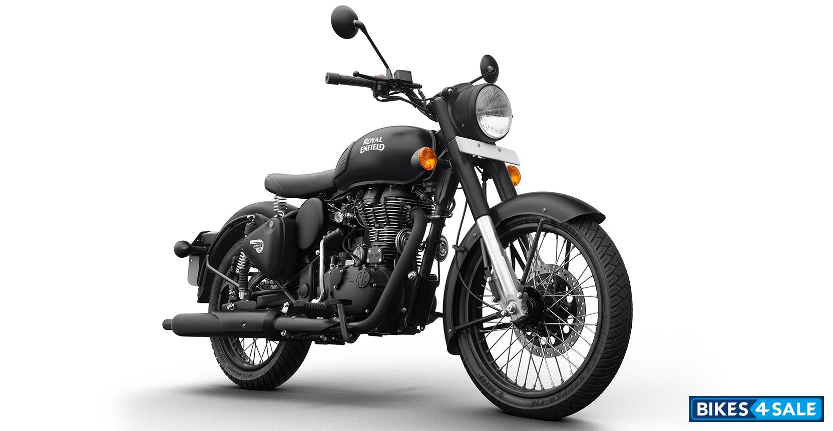 royal enfield classic stealth black price specs mileage colours photos and reviews bikes4sale. Black Bedroom Furniture Sets. Home Design Ideas