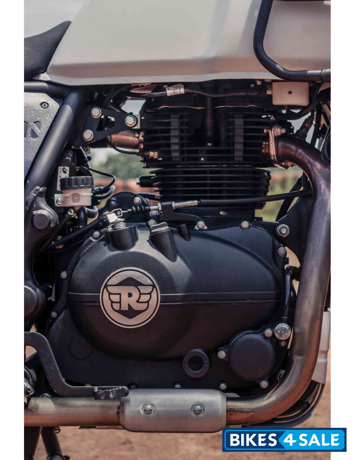Royal Enfield Himalayan BS4 Engine