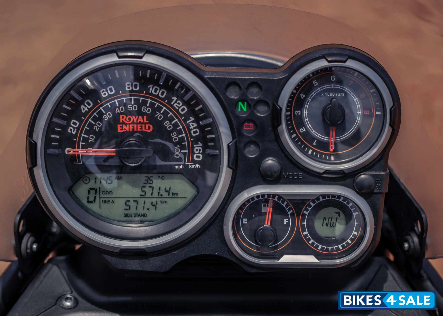 Royal Enfield Himalayan BS4 Instrument Console