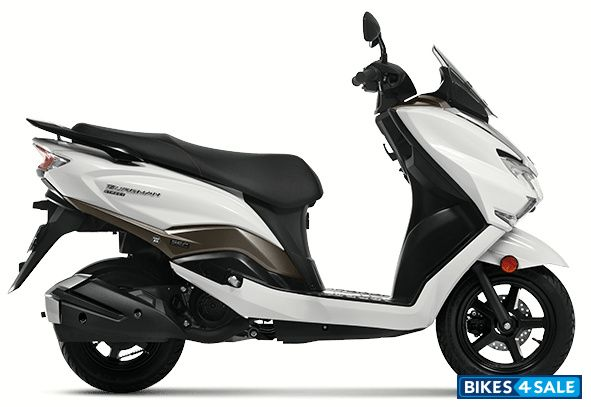 Suzuki Burgman Street Bluetooth Enabled