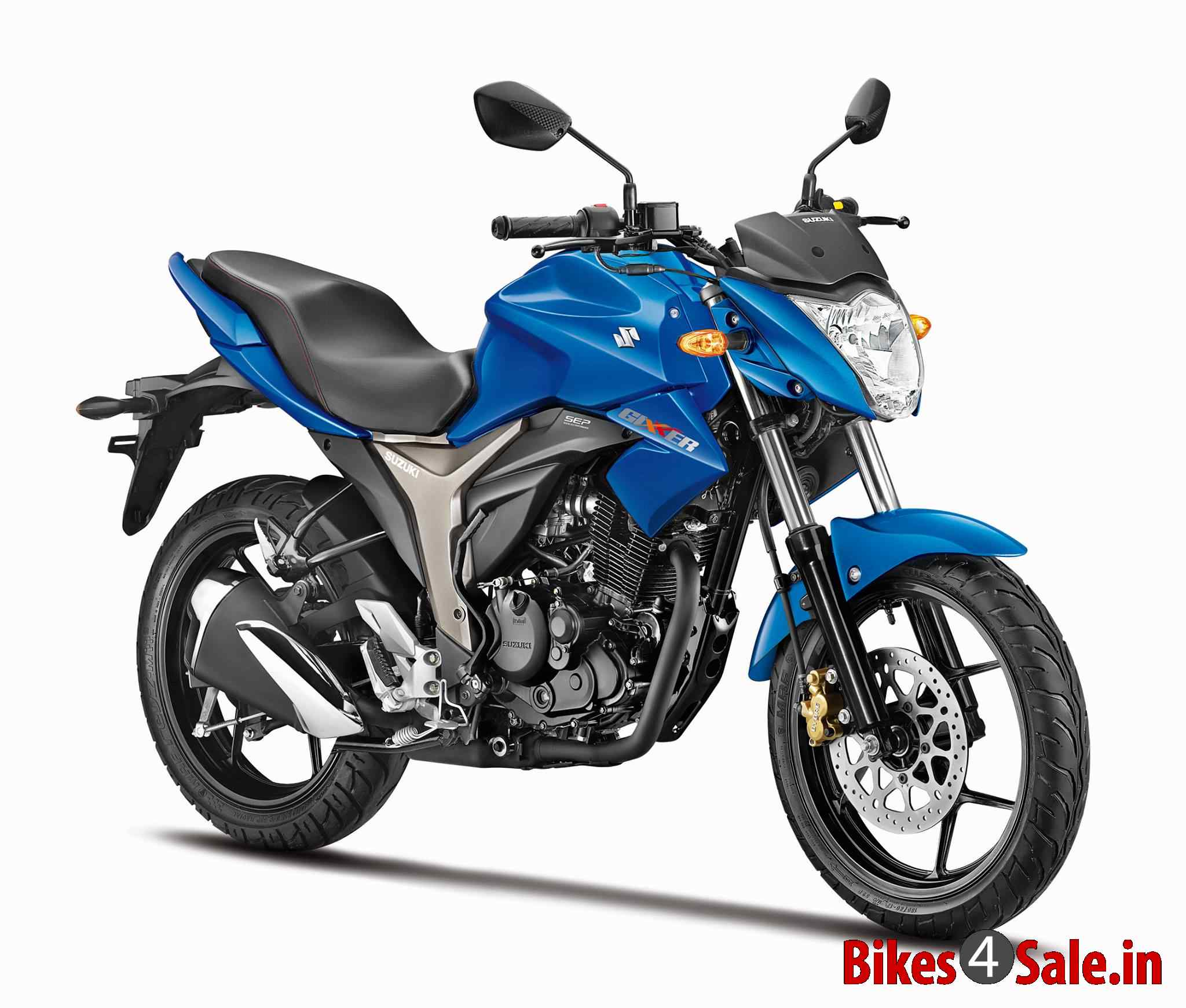 Blue Colour. Suzuki Gixxer 150 Motorcycle Picture Gallery ...