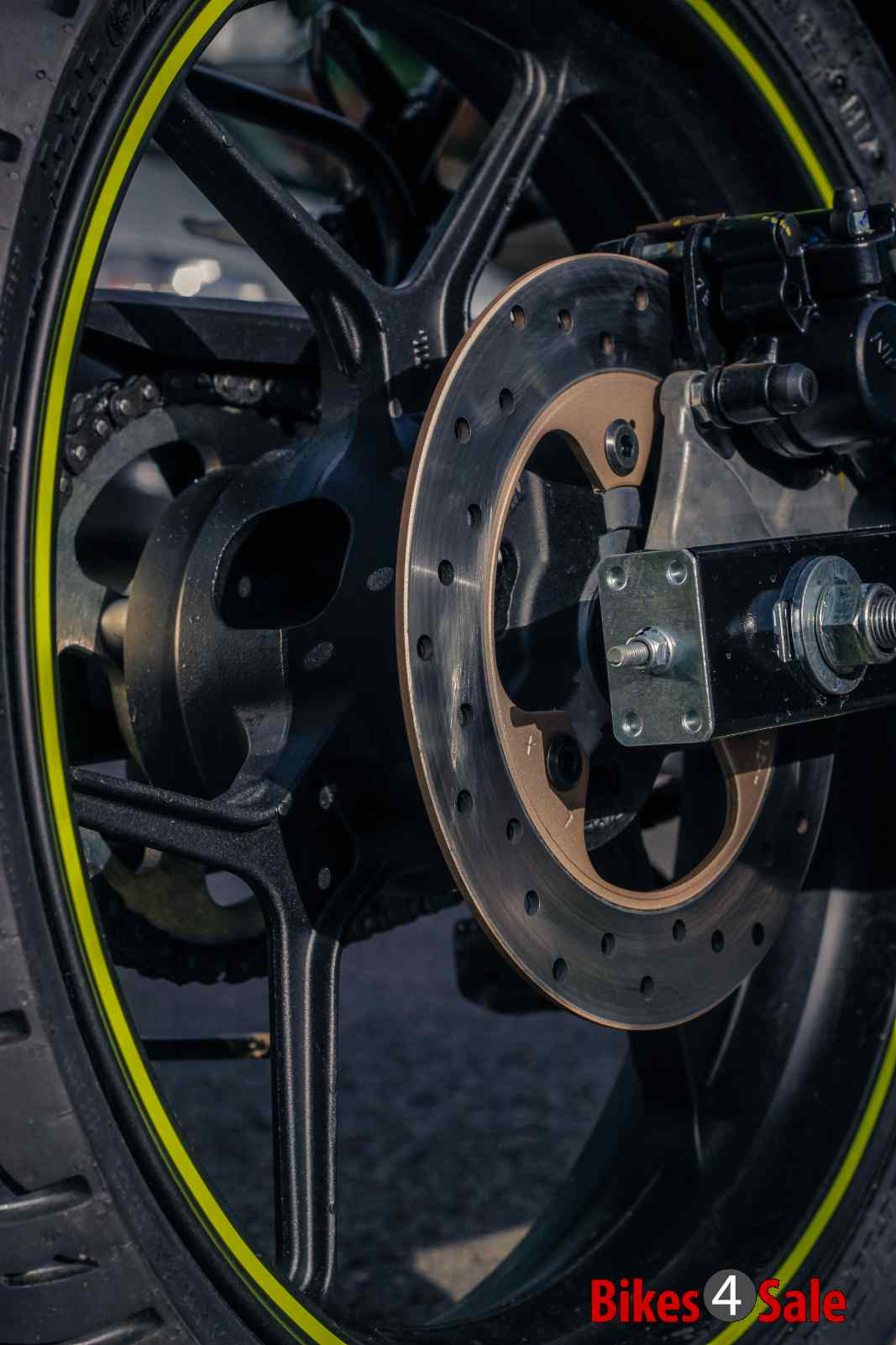 Suzuki Gixxer Sf rear disc brake