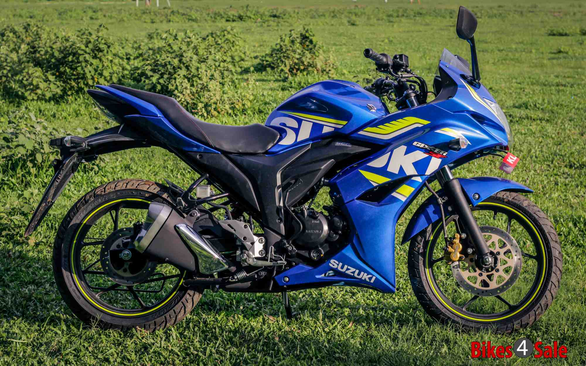 Suzuki Gixxer Sf Side View