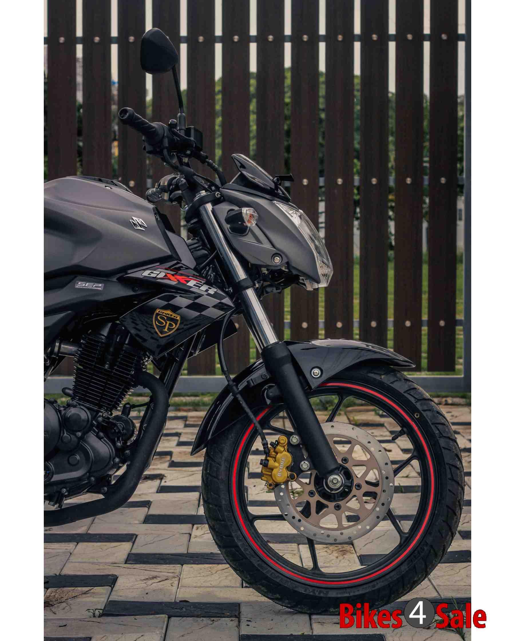 Front Telescopic Fork  Suzuki Gixxer SP Motorcycle Picture