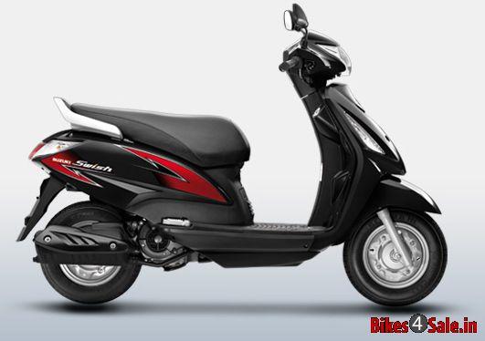 Used Motorcycles Dealers >> Suzuki Swish 125 in Glass Sparkle Black color. Suzuki ...