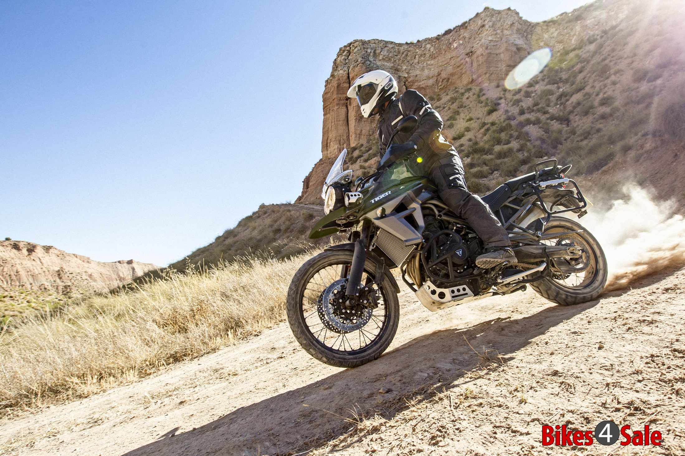 Triumph Tiger 800 XCA off-road