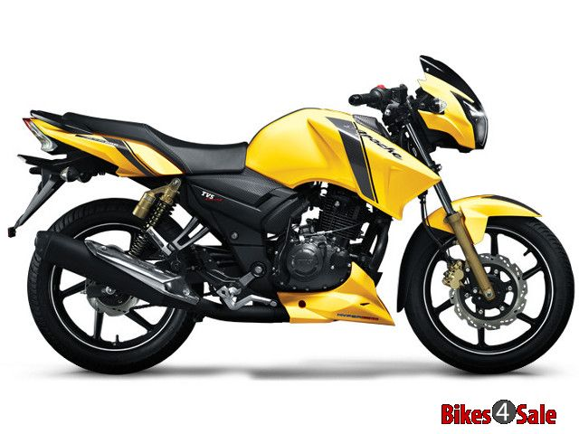 tvs apache rtr 160 price in india onroad and ex showroom price bikes4sale. Black Bedroom Furniture Sets. Home Design Ideas