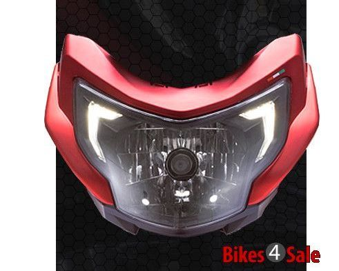 RTR Headlamp with DRLs