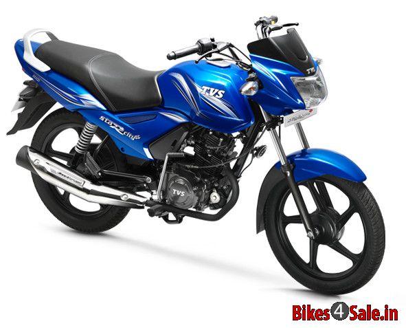Show Stopper Blue Colour Tvs Star City Plus Motorcycle Picture
