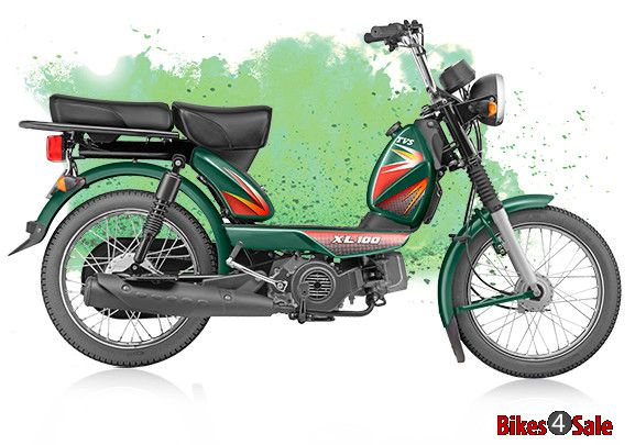 Tvs Xl 100 Price Specs Mileage Colours Photos And