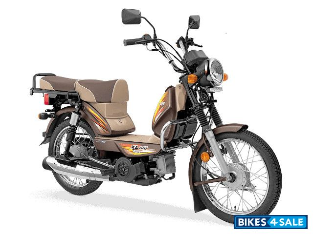 TVS XL100 Heavy Duty i-TOUCHstart Special Edition BS6