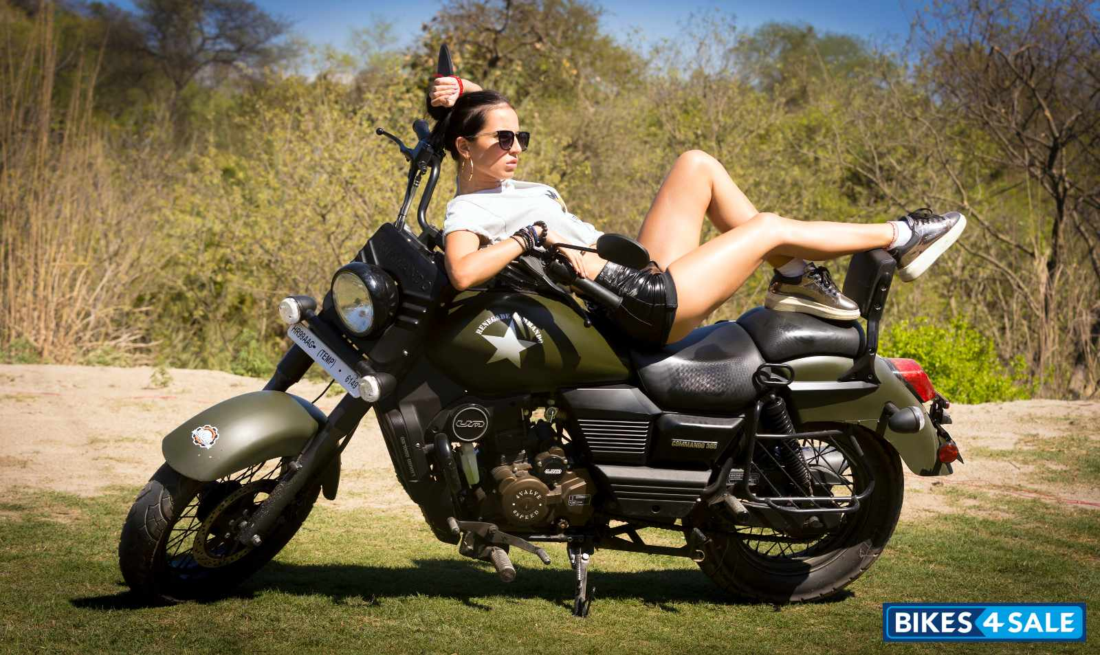 Renegade Commando Girl Um Renegade Commando Motorcycle