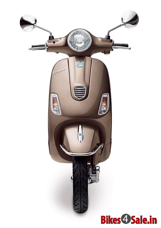 Vespa Elegante Scooter Picture Gallery Front View