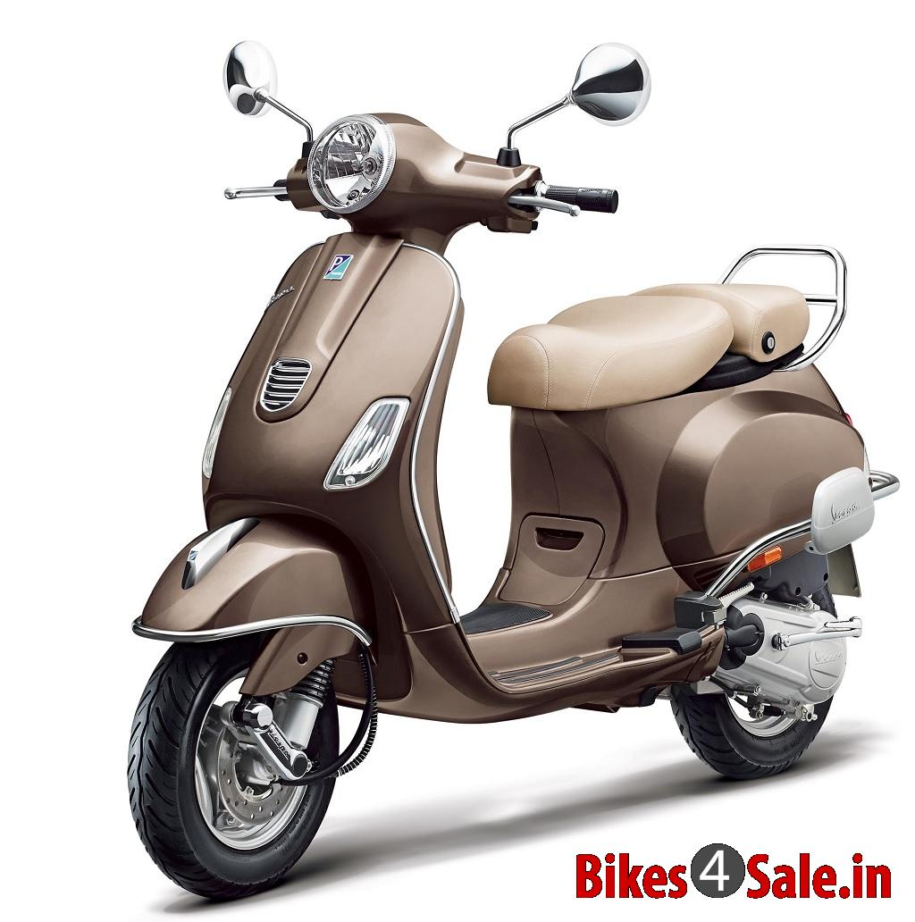 Honda 4 Wheeler Dealers Angled side view. Brown colour. Vespa Elegante Scooter Picture Gallery ...