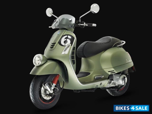 vespa sei giorni 300 price specs mileage colours. Black Bedroom Furniture Sets. Home Design Ideas