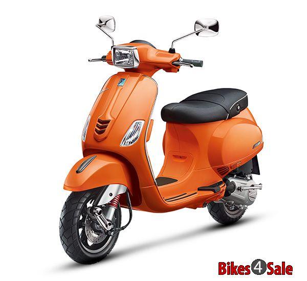 Orange Colour Vespa Sxl 150 Scooter Picture Gallery Bikes4sale