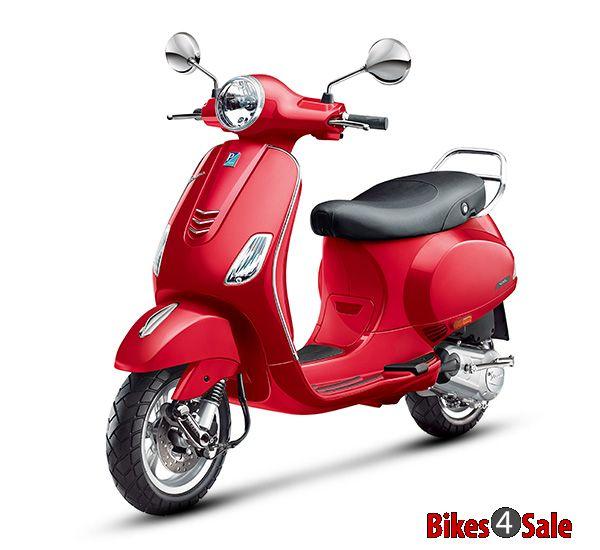 Red colour vespa vxl 125 scooter picture gallery bikes4sale