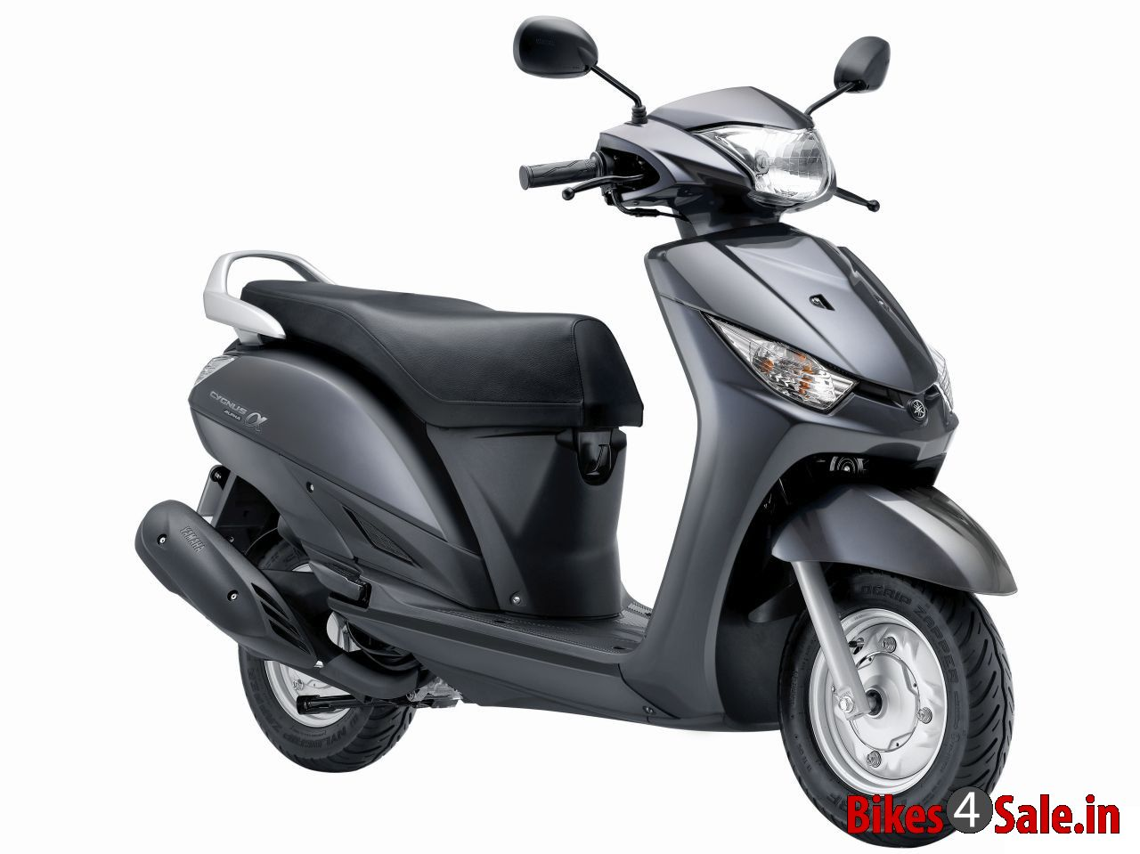 Grey Colour. Yamaha Alpha Scooter Picture Gallery - Bikes4Sale