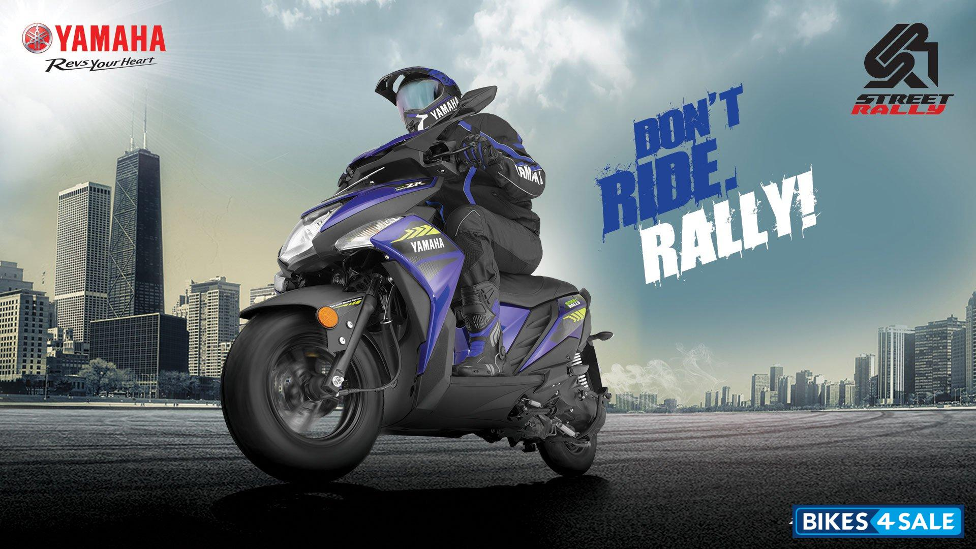 Yamaha Cygnus Ray ZR Street Rally