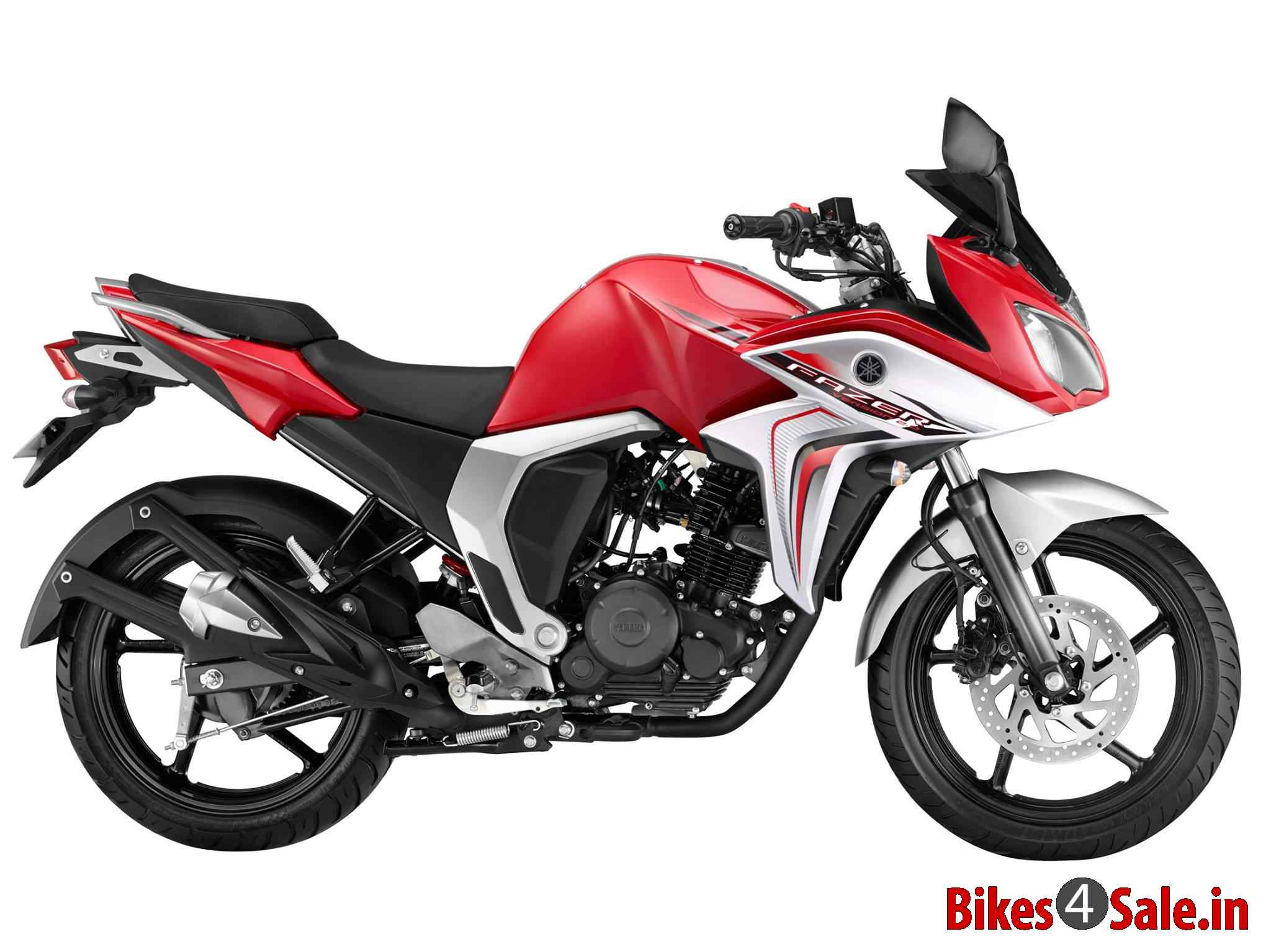 yamaha fazer fi v2 motorcycle picture gallery red colour bikes4sale. Black Bedroom Furniture Sets. Home Design Ideas