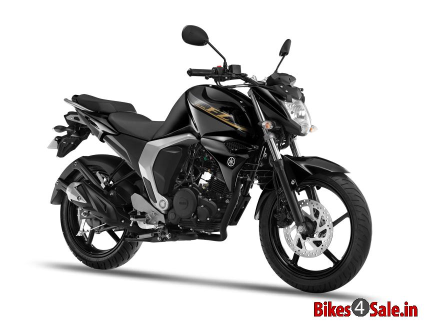 Panther Black Colour Yamaha Fz Fi V2 Motorcycle Picture
