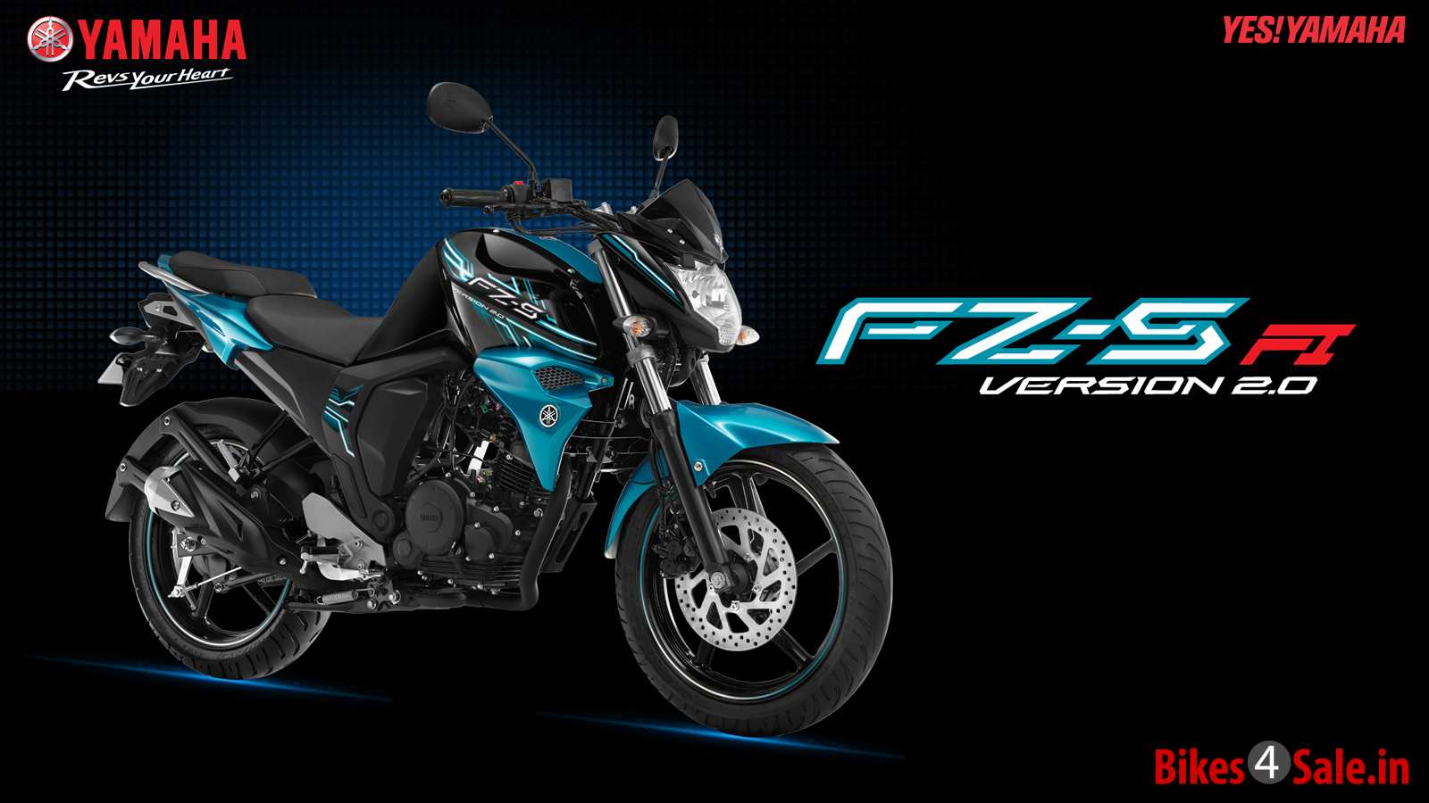 Electric Bikes For Sale >> Photo 3. Yamaha FZ-S FI V2 Motorcycle Picture Gallery - Bikes4Sale