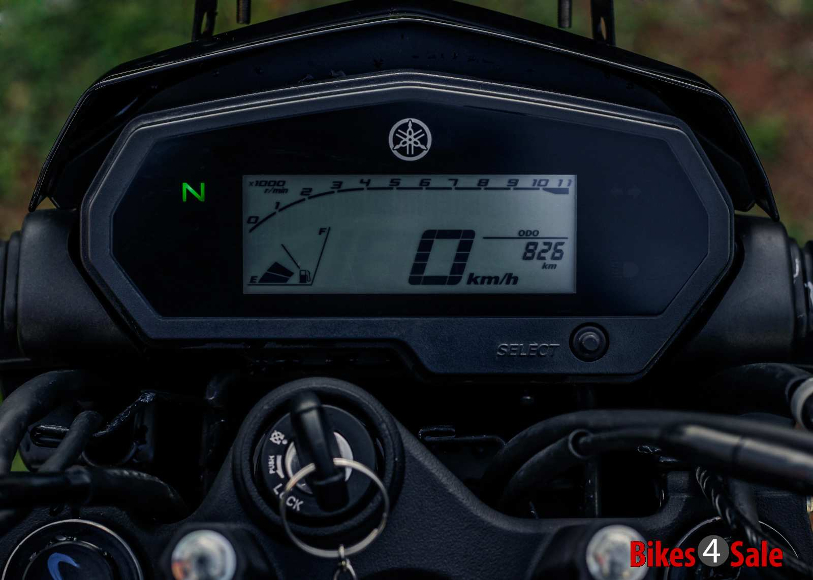 Yamaha Fz25 digital instrument panel