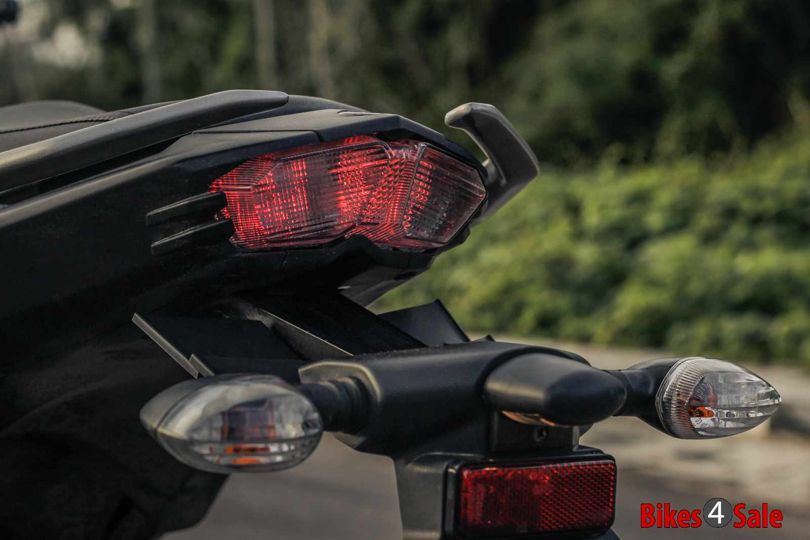 Yamaha Fz25 LED tail lamp and grab rails