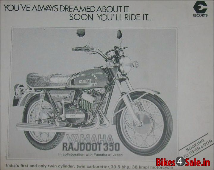 Yamaha RD 350 Motorcycle Picture Gallery  Old print