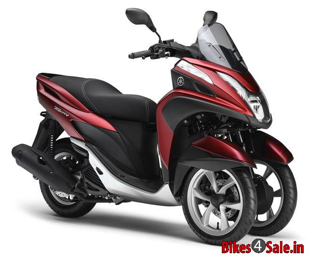 yamaha tricity 125 price specs mileage colours photos and reviews bikes4sale. Black Bedroom Furniture Sets. Home Design Ideas