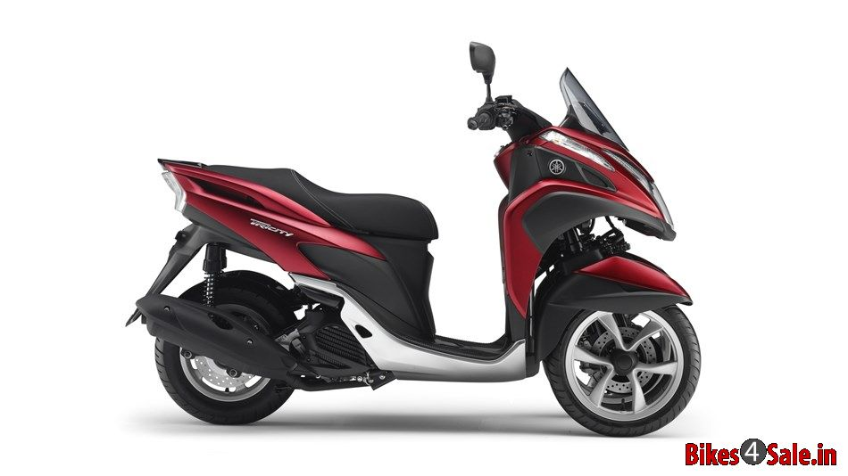 picture showing the side view of yamaha tricity 125. Black Bedroom Furniture Sets. Home Design Ideas